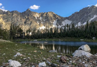 Holly Lake Grand Teton National Park