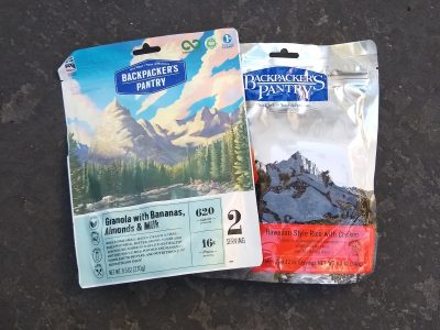 Favorite Dehydrated Backpacking Meals